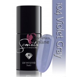Oja UV Semilac 104 mov Violet Gray 7 ml